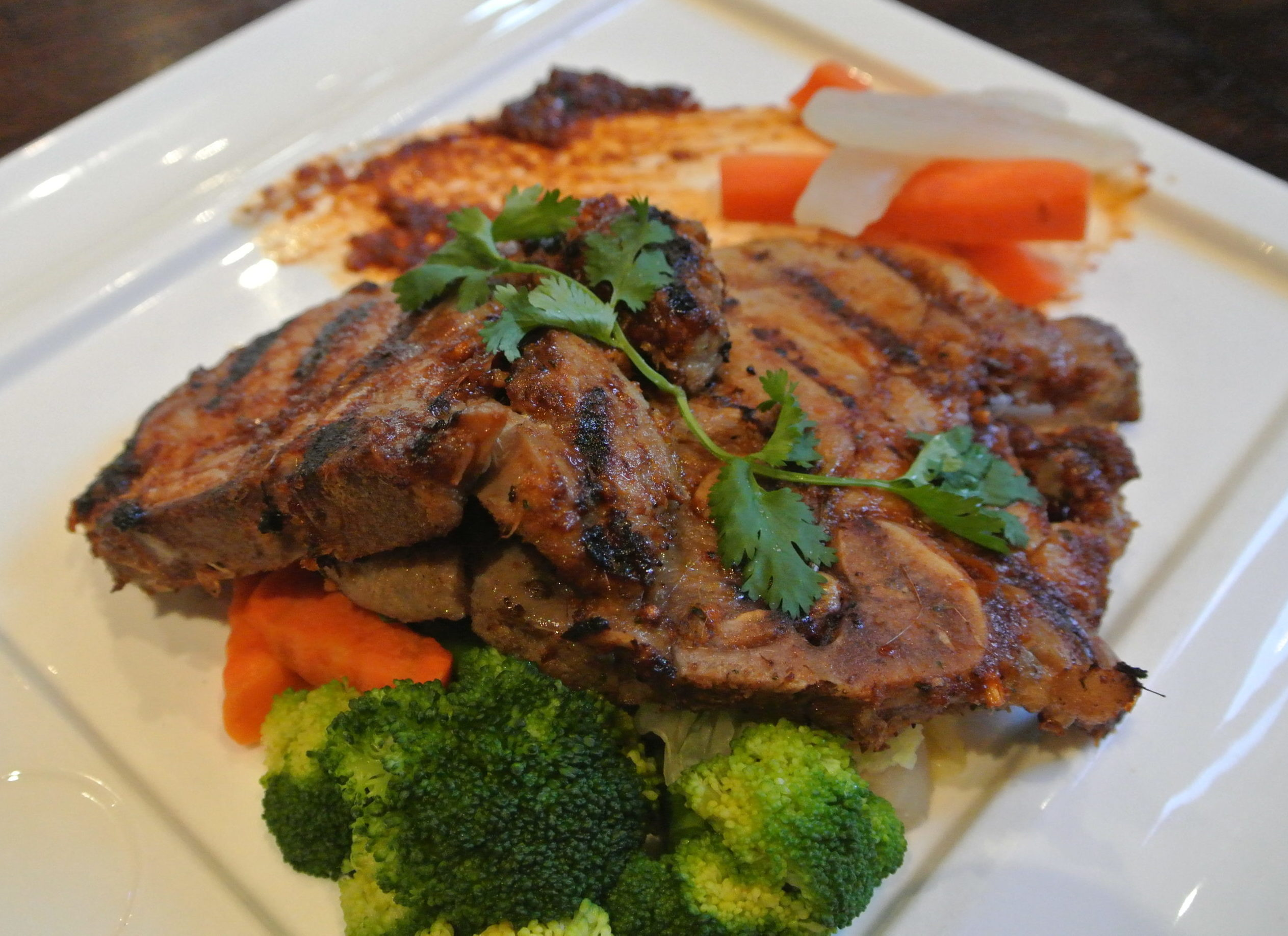 LEMONGRASS PORK CHOP