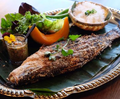 GRILLED WILD CAUGHT BRONZINO